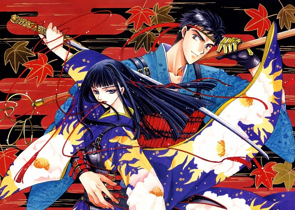 Tags: Anime, CLAMP, Geneon Pioneer, X, X Zero, Kishuu Arashi, Arisugawa Sorata, Egasumi, Official Art, Scan