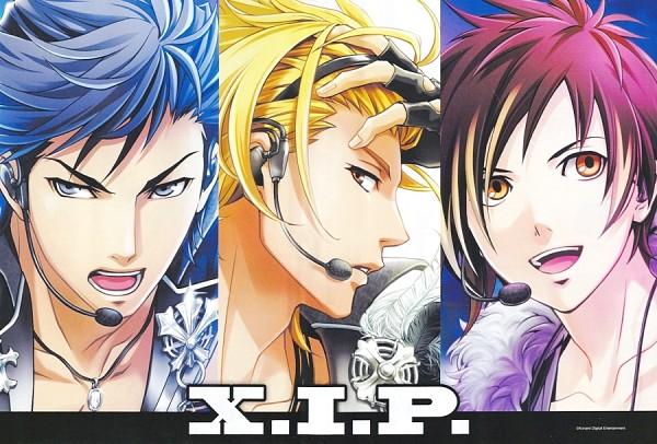 Tags: Anime, KONAMI, Tokimeki Restaurant, Kanzaki Toru, Date Kyoya, Fuwa Kento, Official Art, X.I.P.