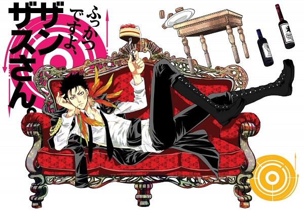 Tags: Anime, Katekyo Hitman REBORN!, Xanxus, Laying on Couch