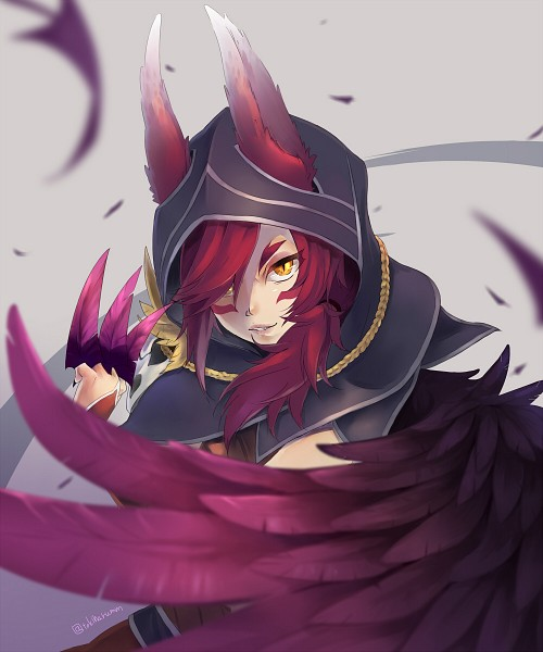 Tags: Anime, Pixiv Id 101387, League of Legends, Xayah