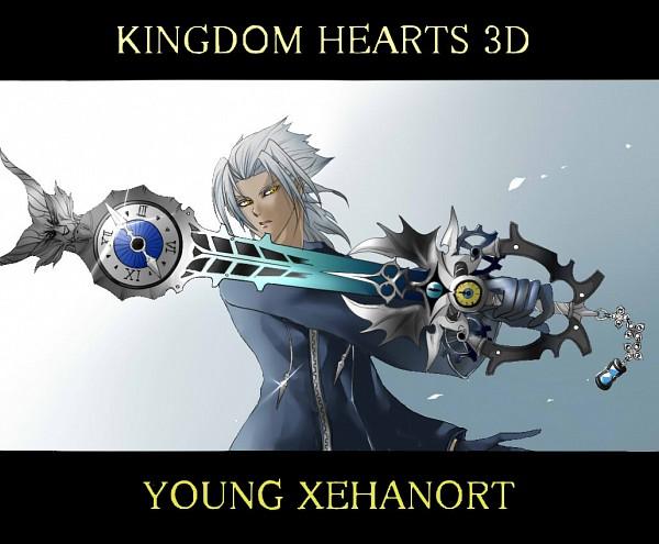 Tags: Anime, Pixiv Id 2930665, Kingdom Hearts 3D: Dream Drop Distance, Kingdom Hearts, Xehanort, Keyblade, Pixiv