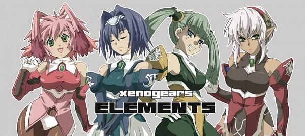 Tags: Anime, Pixiv Id 985863, SQUARE ENIX, Xenogears, Seraphita, Dominia Yizkor, Kelvena, Tolone, Pixiv, Fanart