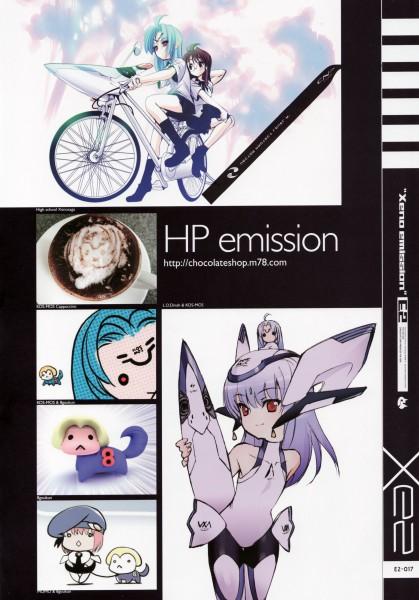 Tags: Anime, Xeno Emission E2, Xenosaga, KOS-MOS, M.O.M.O, Shion Uzuki