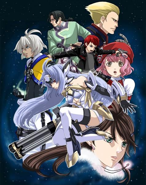 Tags: Anime, Xenosaga, Shion Uzuki, KOS-MOS, Gaignun Kukai Jr., M.O.M.O, Jin Uzuki, Ziggy