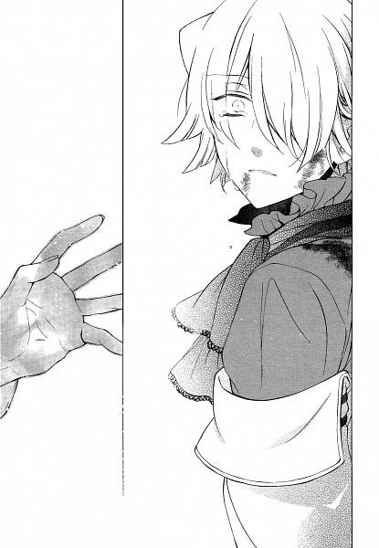 Tags: Anime, Mochizuki Jun, Pandora Hearts, Xerxes Break, Official Art, Scan, Manga Page, Mobile Wallpaper