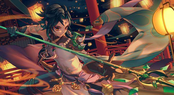Tags: Anime, lilithbloody, Genshin Impact, Xiao (Genshin Impact), Fanart, Fanart From Pixiv, Pixiv