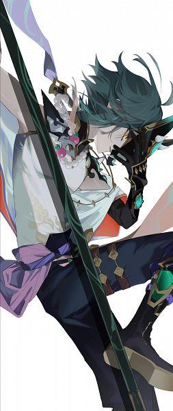 Tags: Anime, Rozirorz, Genshin Impact, Xiao (Genshin Impact), Fanart, Fanart From Pixiv, Pixiv