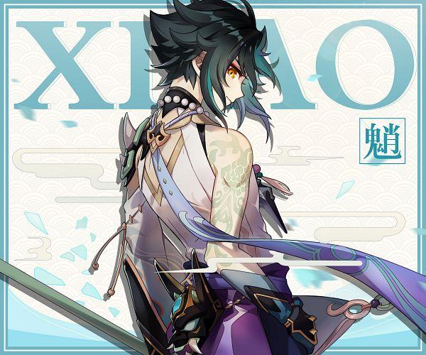 Tags: Anime, miHoYo, Genshin Impact, Xiao (Genshin Impact), Twitter, Official Art