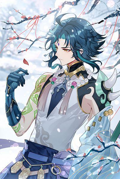 Tags: Anime, Qing11502143, Genshin Impact, Xiao (Genshin Impact), Fanart From Pixiv, Pixiv, Fanart, Twitter