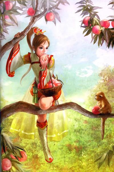 Xiao Qiao - Dynasty Warriors
