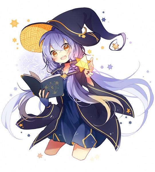 Tags: Anime, Feng Hu, VOCALOID, Xingchen, Hexagram, No Legs, Spellbook, Using Magic, Fanart, Fanart From Pixiv, Pixiv