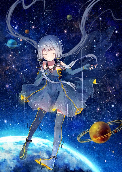 Tags: Anime, Yu Mo (Pixiv6147118), VOCALOID, Xingchen, Mobile Wallpaper, Pixiv, Fanart, Fanart From Pixiv, PNG Conversion