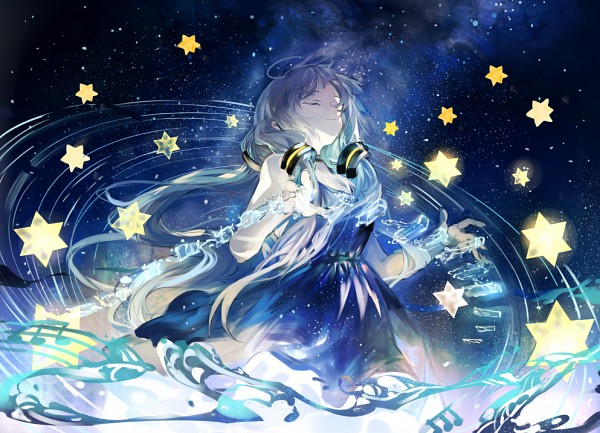 Tags: Anime, Daro (645046276), VOCALOID, Xingchen, Galaxy Print, Galaxy, Pixiv, Fanart From Pixiv, Fanart, PNG Conversion