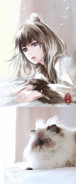 Tags: Anime, Xuedaixun, Photograph (Source), Pixiv, Inspiration By Photo