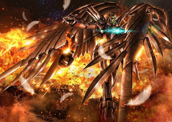 Xxxg-00w0 Wing Gundam Zero - Mobile Suit Gundam Wing