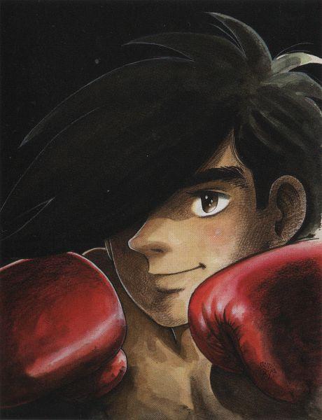 Tags: Anime, Ashita no Joe, Yabuki Joe, Boxing Gloves, Boxer, Artist Request