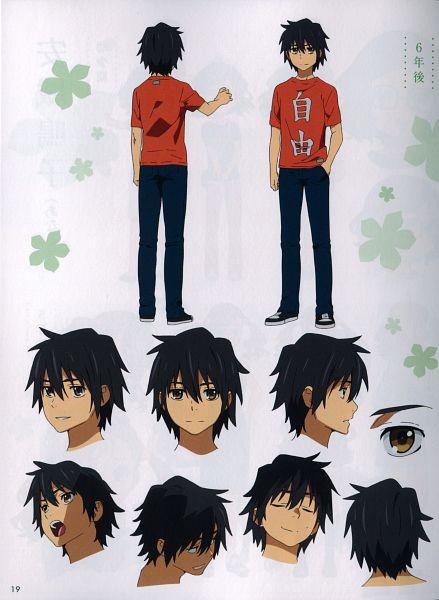 Tags: Anime, Tanaka Masayoshi, A-1 Pictures, Ano Hi Mita Hana no Namae o Bokutachi wa Mada Shiranai., Yadomi Jinta, Scan, Official Art