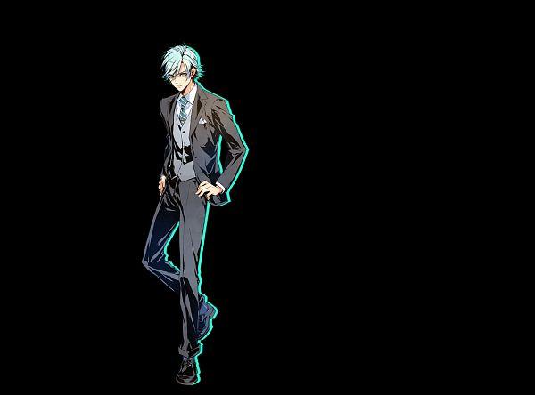 Tags: Anime, Usuba Kagerou, Otomate, DESIGN FACTORY, Variable Barricade, Yagami Nayuta, Cover Image, Official Art