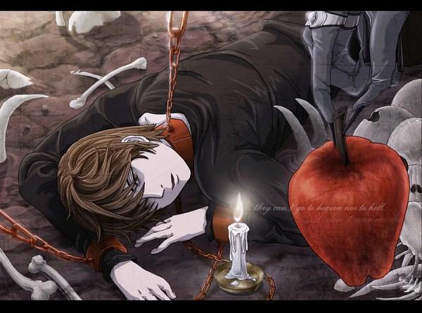 Tags: Anime, ForeverMedhok, DEATH NOTE, Ryuk, Yagami Raito, Shinigami, Light Yagami