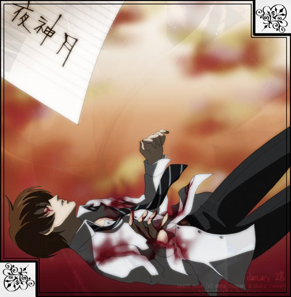 Tags: Anime, DEATH NOTE, Yagami Raito, Light Yagami