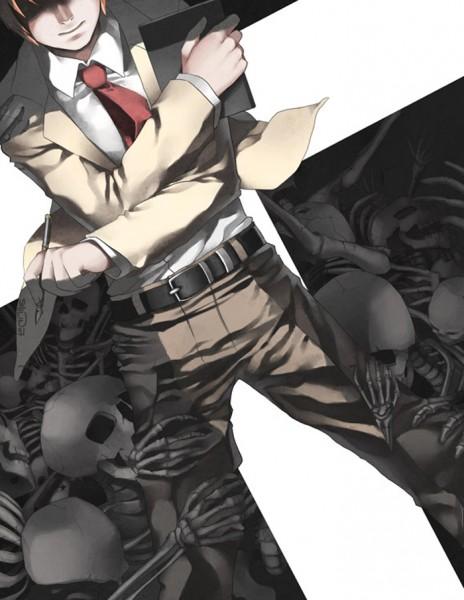 Tags: Anime, Shilin, DEATH NOTE, Yagami Raito, Fanart, Light Yagami