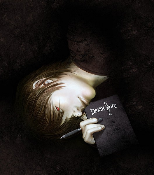 Tags: Anime, DEATH NOTE, Yagami Raito, Death Note (Object), Artist Request, Light Yagami
