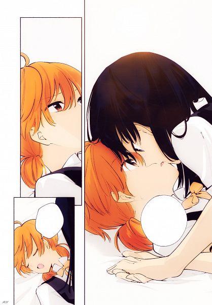 Tags: Anime, Yuis World, Yagate Kimi ni Naru, Nanami Touko, Koito Yuu, Colorization, Bloom Into You