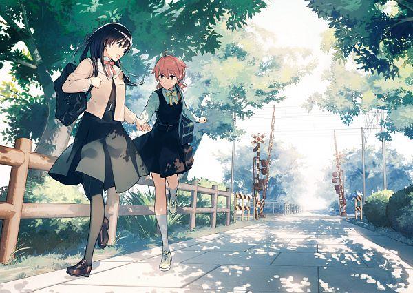 Tags: Anime, Nakatani Nio, Yagate Kimi ni Naru, Nanami Touko, Koito Yuu, Pixiv, Official Art, Bloom Into You