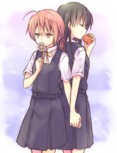 Tags: Anime, Pixiv Id 3739286, Yagate Kimi ni Naru, Nanami Touko, Koito Yuu, Pixiv, Fanart, Fanart From Pixiv, Bloom Into You