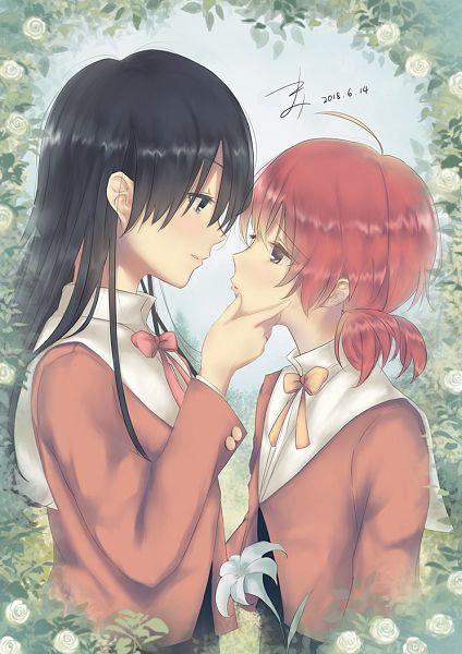 Tags: Anime, Pixiv Id 6363636, Yagate Kimi ni Naru, Nanami Touko, Koito Yuu, Pixiv, Fanart, Fanart From Pixiv, Bloom Into You
