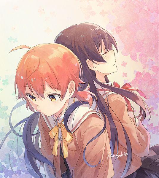 Tags: Anime, HaruSabin, Yagate Kimi ni Naru, Nanami Touko, Koito Yuu, Bloom Into You