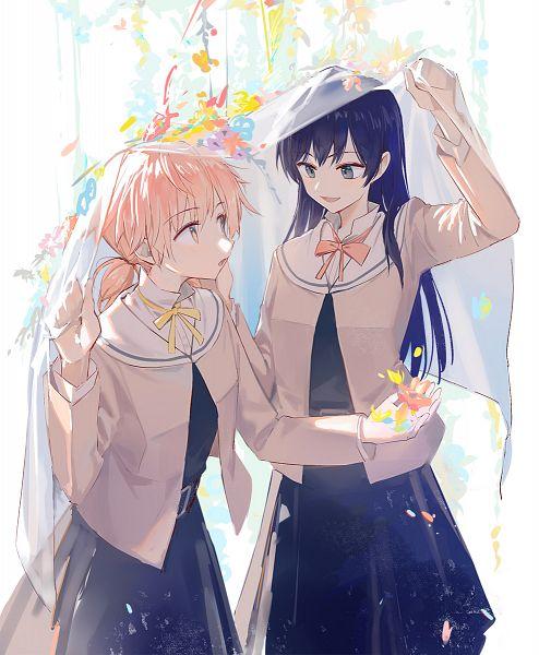 Tags: Anime, Huanxiang Heitu, Yagate Kimi ni Naru, Koito Yuu, Nanami Touko, Fanart, Fanart From Pixiv, Pixiv, Bloom Into You