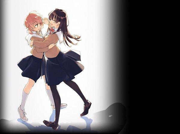 Tags: Anime, Nakatani Nio, Yagate Kimi ni Naru, Nanami Touko, Koito Yuu, Official Art, Bloom Into You