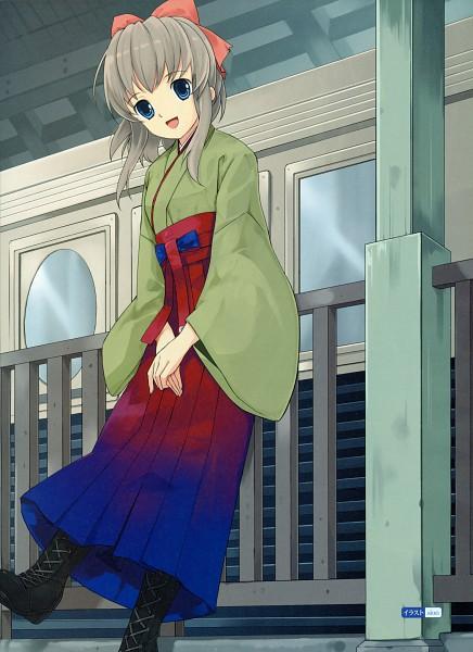 Tags: Anime, Mibu Natsuki, Dengeki Moeoh 2009-04, Tetsudou Musume, Yagisawa Mai