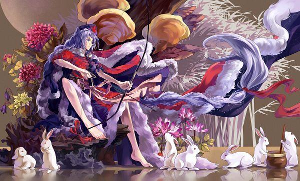 Tags: Anime, NEKO (Yanshoujie), Touhou, Yagokoro Eirin, Royal Robe, Fanart From Pixiv, Fanart, Pixiv, Wallpaper, Eirin Yagokoro