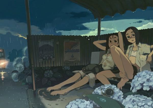 Tags: Anime, Yahagi Yuhichi, Bus, Snail, deviantART, Original, Poster (Source)