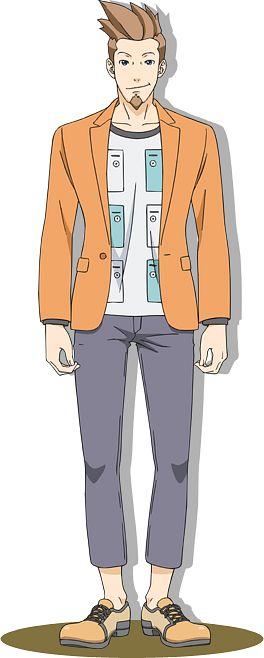 Yahari Masashi (Larry Butz) - Gyakuten Saiban
