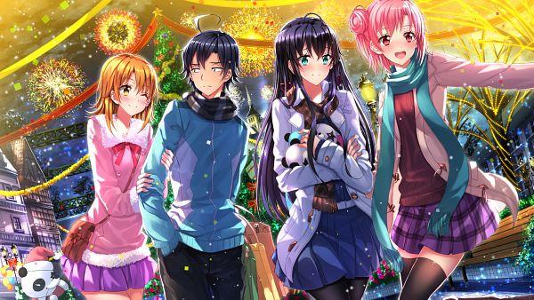Tags: Anime, Swordsouls, Yahari Ore no Seishun Love Come wa Machigatteiru, Yukinoshita Yukino, Yuigahama Yui, Isshiki Iroha, Hikigaya Hachiman, Wallpaper, HD Wallpaper, Facebook Cover, PNG Conversion, My Youth Romantic Comedy Is Wrong As I Expected