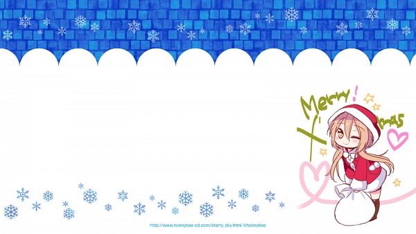 Tags: Anime, Starry☆Sky~, Yahisa Tsukiko, 1600x900 Wallpaper, Facebook Cover, Official Art, Wallpaper, Official Wallpaper