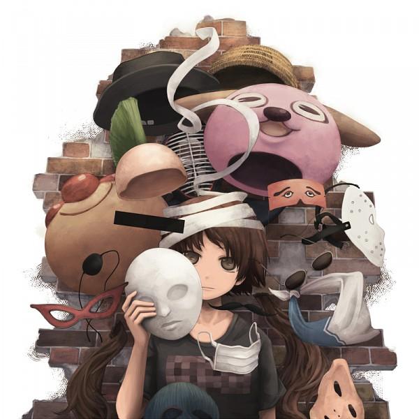 Tags: Anime, Yajirushi, Medical Mask, Pixiv