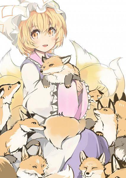 Tags: Anime, Pixiv Id 1732068, Touhou, Yakumo Ran, PNG Conversion, Pixiv, Mobile Wallpaper, Fanart From Pixiv, Fanart, Ran Yakumo
