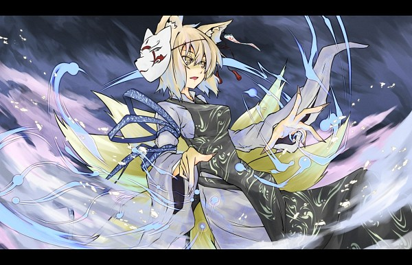Tags: Anime, Irue, Touhou, Yakumo Ran, Fanart, Pixiv, Ran Yakumo