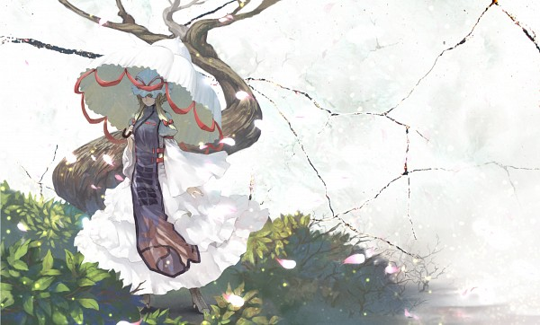 Tags: Anime, Benitama, Touhou, Yakumo Yukari, Tabard, Wallpaper, Fanart From Pixiv, Fanart, Pixiv, Yukari Yakumo