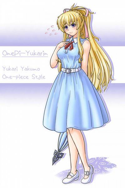 Tags: Anime, Pixiv Id 498381, Touhou, Yakumo Yukari, Fanart, Fanart From Pixiv, Pixiv, Yukari Yakumo