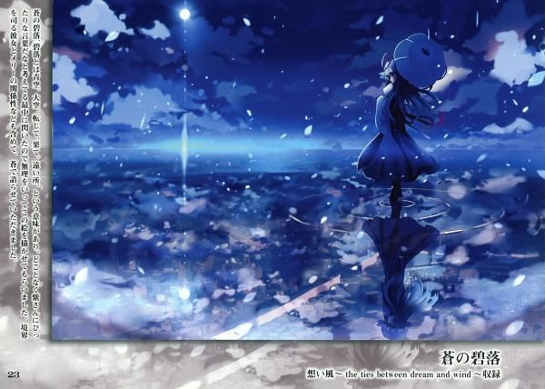 Tags: Anime, Suzuka (Artbook), Touhou, Maribel Hearn, Yakumo Yukari, Different Reflection, Pixiv, Yukari Yakumo
