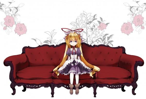 Tags: Anime, Shigeru Yoshi, Touhou, Yakumo Yukari, :>, Curiosities of Lotus Asia, Yukari Yakumo