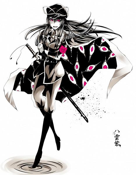 Tags: Anime, K Step2009, Touhou, Yakumo Yukari, Gap, Portal, Contemporary, Fanart, Pixiv, The Imperial Gensokyo Army, Yukari Yakumo