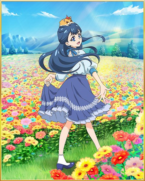 Tags: Anime, HUGtto! Precure, Precure Tsunagaru Puzzlun, Hariham Harry, Yakushiji Saaya