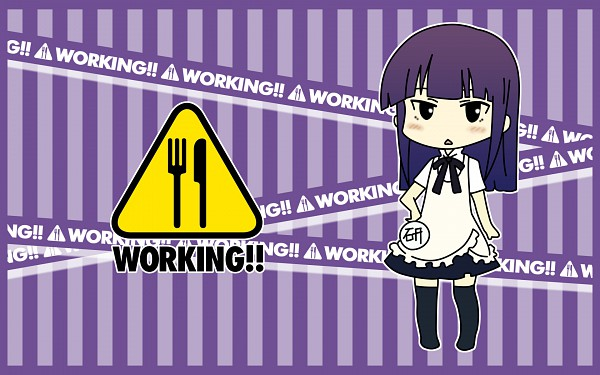 Tags: Anime, Working!!, Yamada Aoi, Wallpaper