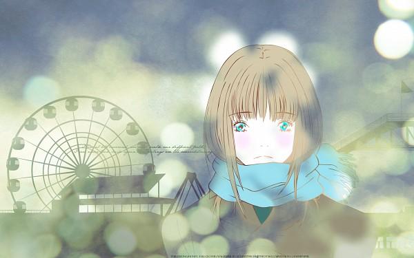 Tags: Anime, Umino Chika, Hachimitsu to Clover, Yamada Ayumi, Ferris Wheel, Wallpaper